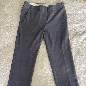 Navy tweed dress pants from Loft
